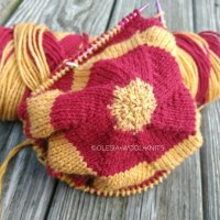 Works in Progress|Knitting a top-down hat